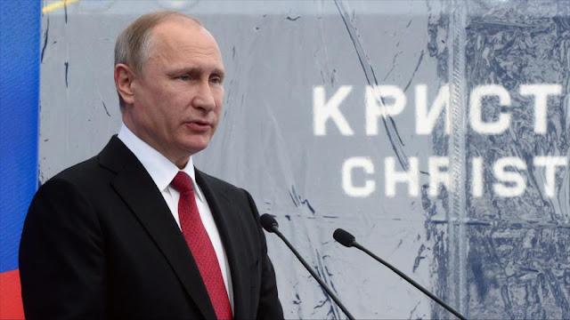 Putin: OTAN es un instrumento de EEUU integrado por vasallos