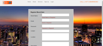 Register Without Filling Any Details
