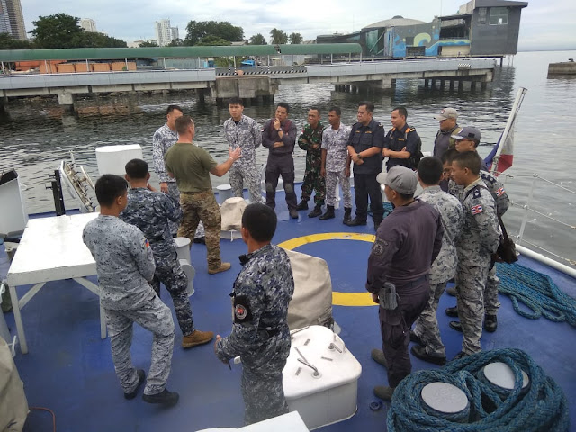 Tim VBSS Bakamla RI Dalami Gerakan Taktis Boarding di PCG Base