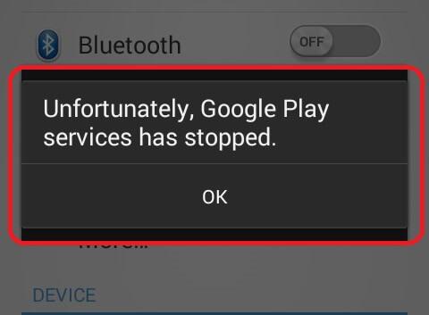 Unfortunately App has Stopped