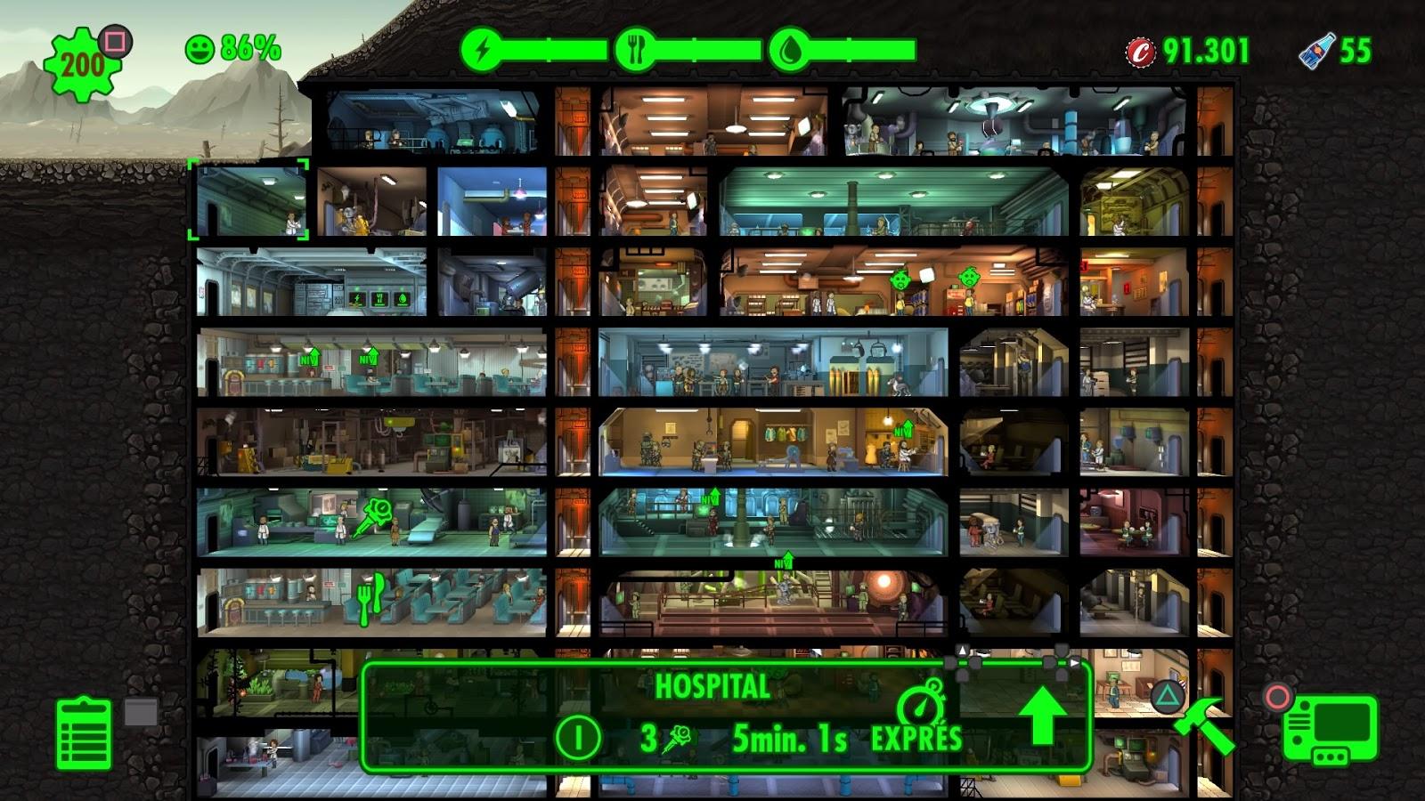 Fallout Shelter Wait2play Como Disminuir Los Tiempos De Espera