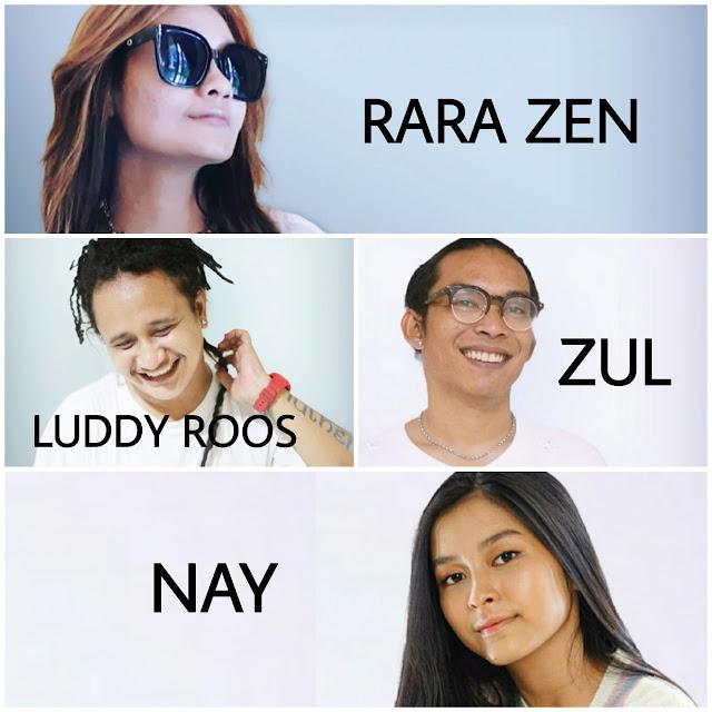 4 artis penyanyi Indonesia Records yang ikut project lagu Bahagia Untukmu 3 versi. (Dok. Istimewa)