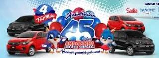 Aniversário 45 Anos Andorinha Hiper Center 4 Carros 0KM