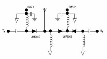 High Power Broadband Antenna Switch Circuit Design