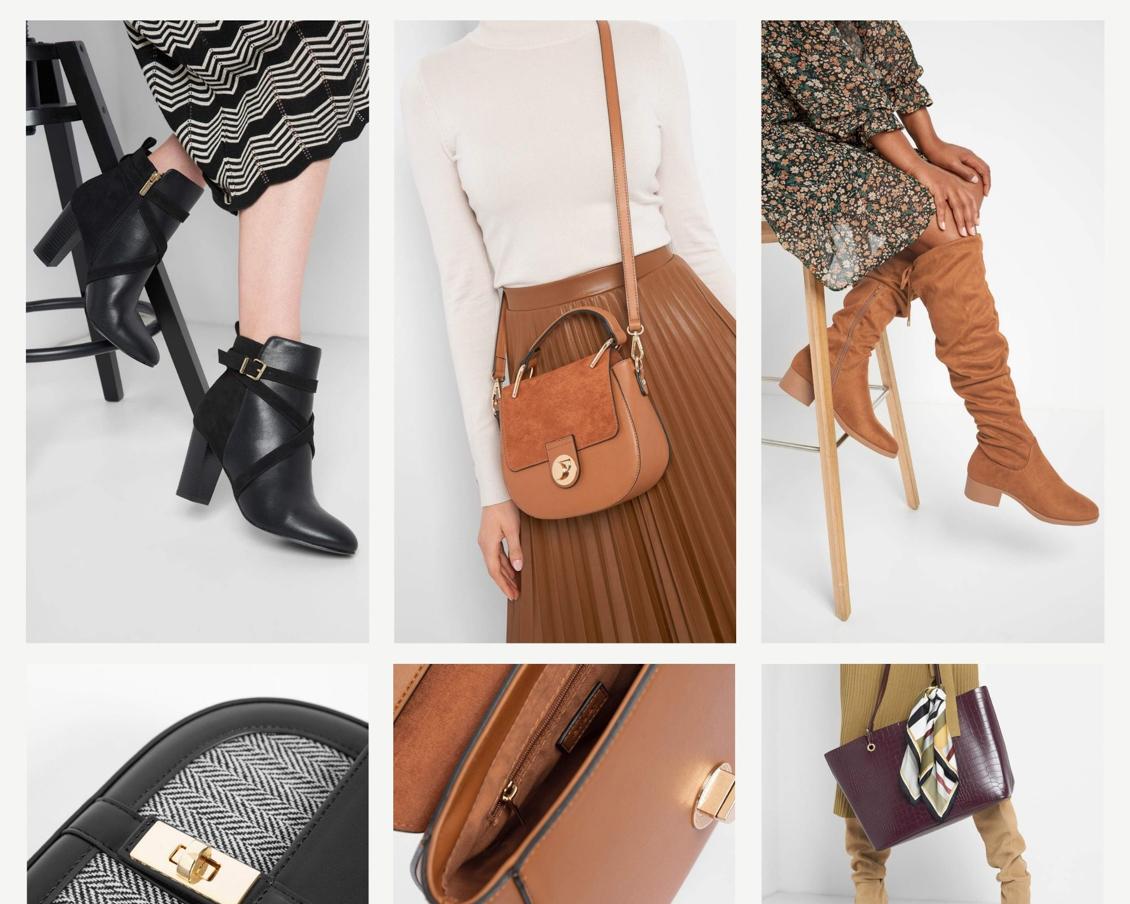 Stylische und bequeme Herbstoutfits - Inspiration - Schuhe - Stiefel - Handtaschen - Leder