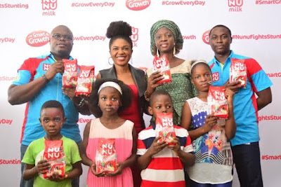 Fun, excitement as Nunu Milk launches Nunu Smart Growth Formulation