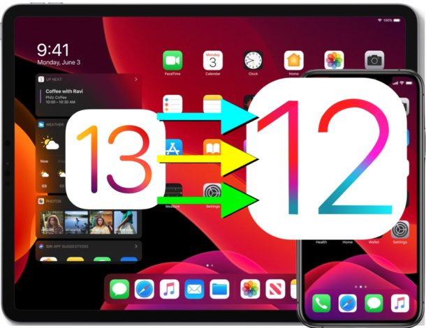 How to downgrade iOS 13.0 to iOS 12.4.1 with a link to download ipsw files