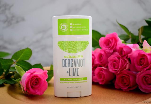 Naturalny dezodorant Bergamot i Lime, Schmidt's
