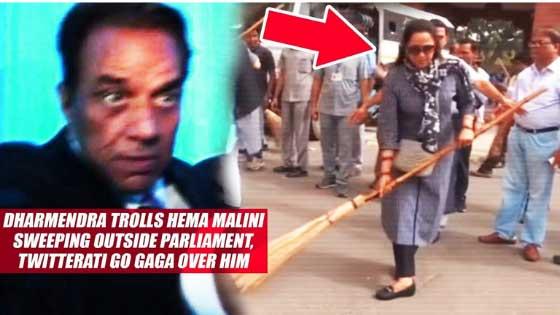 Dharmendra Trolls Hema Malini