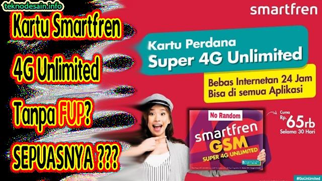 Apakah Benar Kartu Internet Smartfren 4G Unlimited Cuma 60 Ribuan?