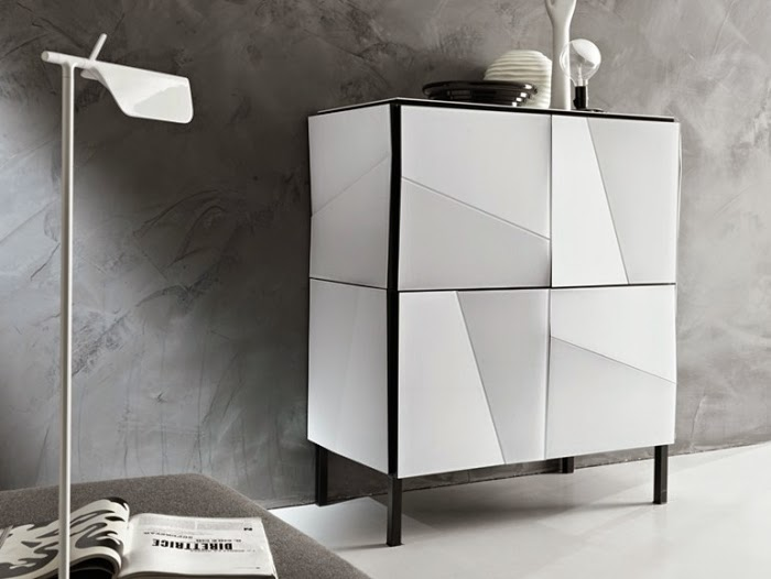 catchy modern dining room sideboards with appealing designs. Black Bedroom Furniture Sets. Home Design Ideas