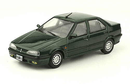 Renault 19 RT 1995 1:43, autos inolvidables argentinos 80 90