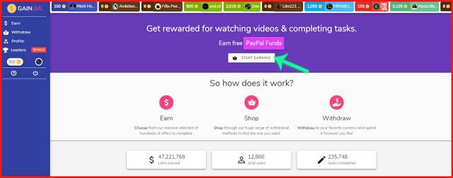 إربح المال الآن بسهولة من هذا الموقع الجديد بأسهل طريقة والحد الأدنى للسحب 0.2 سنت فقط