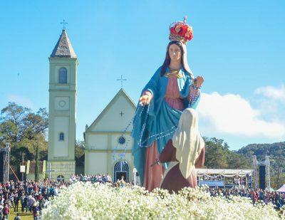 Sem procissão, Festa de Nossa Senhora de Caravaggio terá missa transmitida pela TV