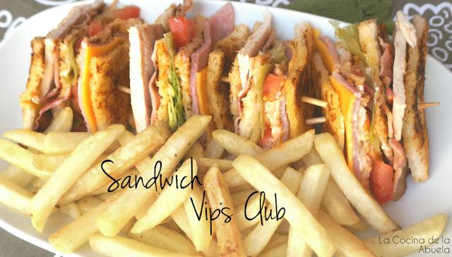 Sandwich Vips Club: El mejor sandwich del mundo.