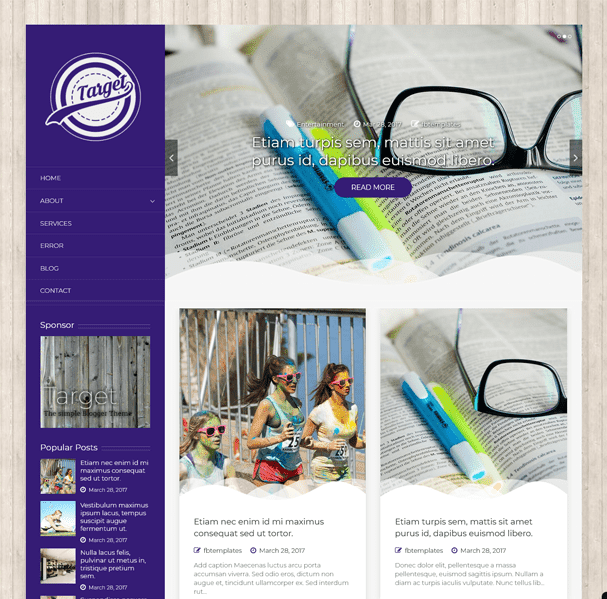 Best Blogger Templates For Food & Recipe Blogs   Target