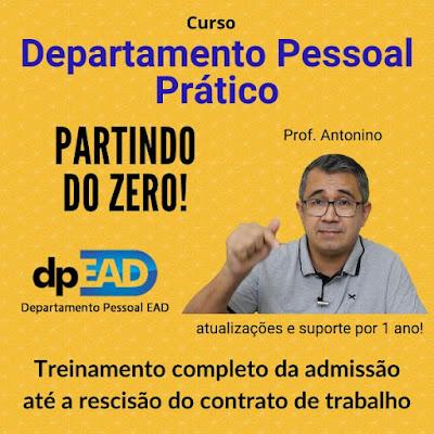 Curso Online de Departamento Pessoal Prático do DPEAD