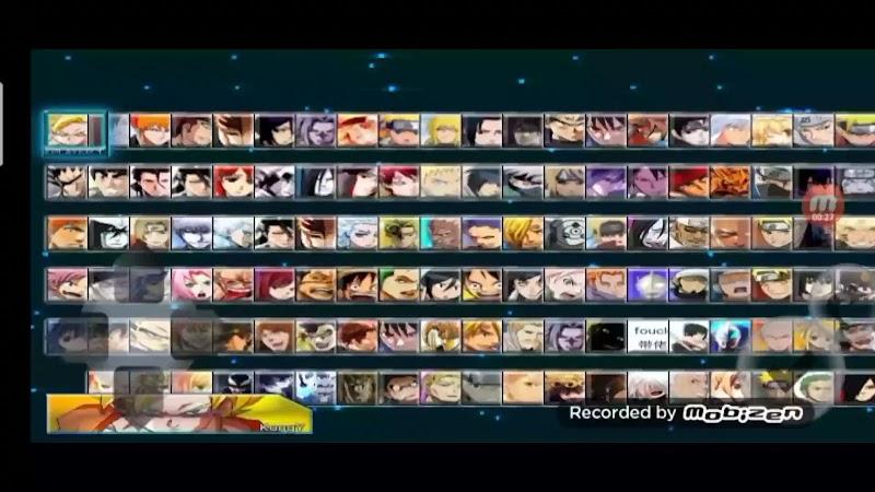 Saiyan Vs Ninja Arena 3.3 Mod Apk with 100 Characters Download