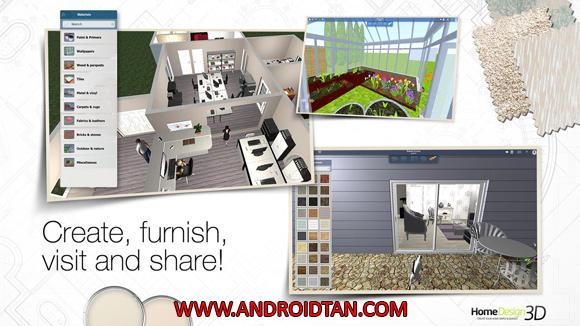 Fitur Game Home Design 3D Mod Apk