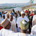 Photos: Buhari Arrives Katsina To Celebrate Eid-el-Kabir