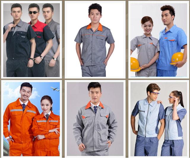 Tùy từng loại trang phục bảo hộ mà thiết kế, chất liệu sẽ khác nhau.