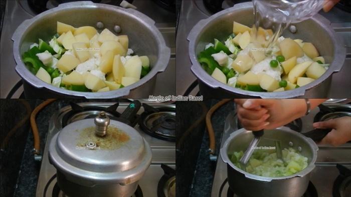 Mumbai's Pav Bhaji Recipe - मुंबई स्टाइल पाव भाजी रेसिपी - Priya R - Magic of Indian Rasoi