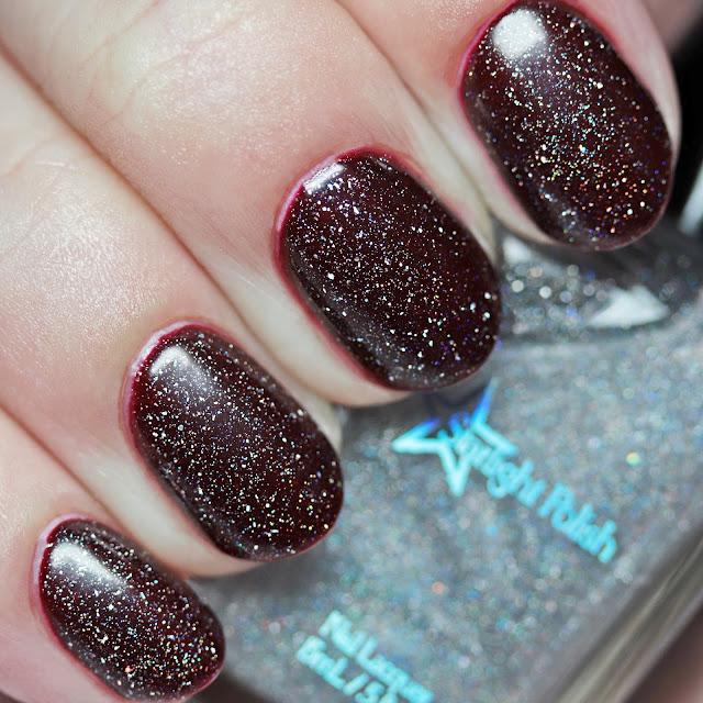 Starlight Polish I'll Make My Own Destiny over Believe Beauty Duchess