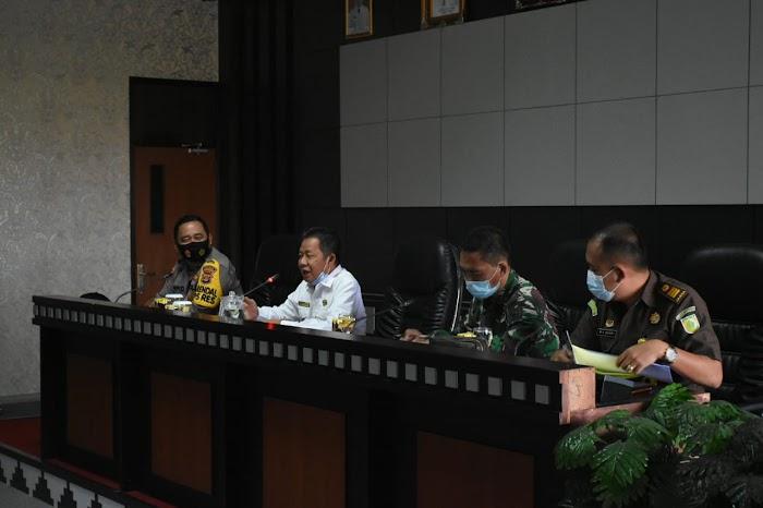 Rapat Sosialisasi Membahas Peraturan Bupati Nomor 45 Tahun 2020.Di Pemda Tubaba.