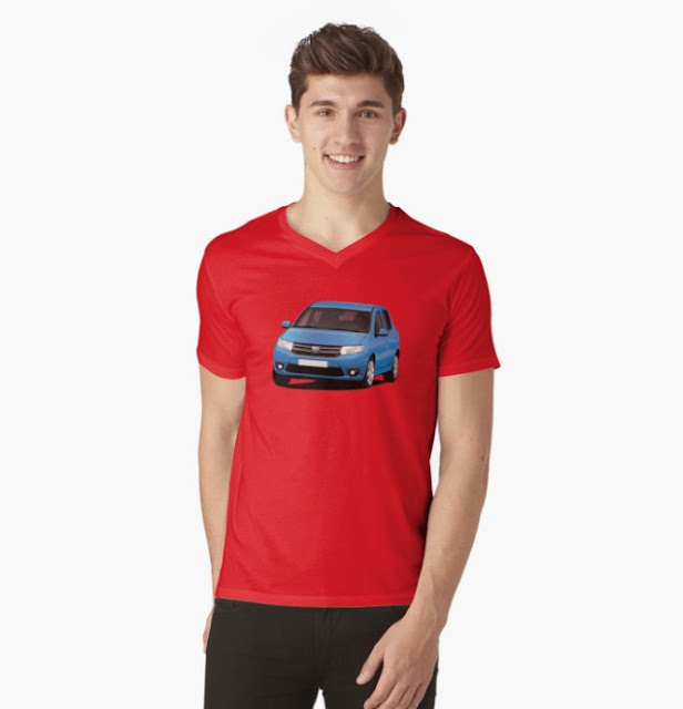 Dacia Sandero apparels Redbubble