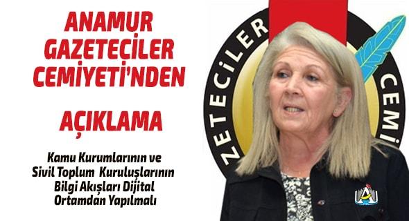 Anamur Haber, Anamur Son Dakika, Corona Virüsü, Anamur  Gazeteciler  Cemiyeti.,
