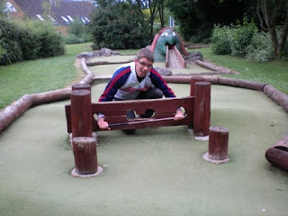 Mini Golf at the Charlton Lakeside Pavilion in Andover, Hampshire