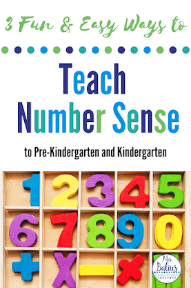 Grab these 3 fun and easy ways to teach number sense.