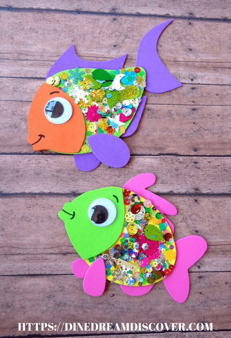 summer fish craft for kids