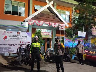 Jaga Kamtibmas, Polres Pelabuhan Patroli Rutin ke Kantor PPK dan Panwanslu