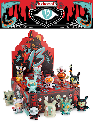 The 13 Dunny Series by Brandt Peters x Kidrobot