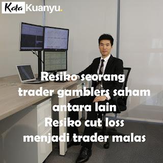 Mengenal trader saham gamblers dan resikonya
