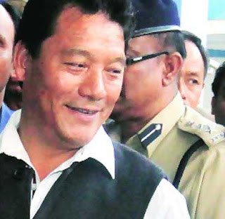 Bimal gurung at bagdogra