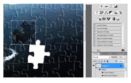 Cara Membuat Foto Menjadi Puzzle dengan Photoshop Tutorial Cara Cepat Membuat Foto Menjadi Puzzle dengan Photoshop
