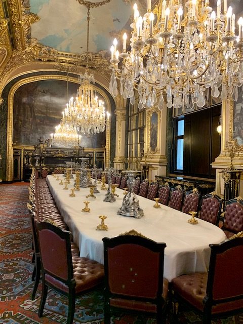 Napolean's dining room