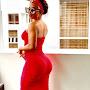 Lady In Red: Toke Makinwa Broke The Internet