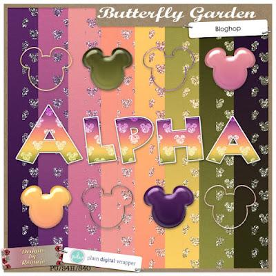 DC35 Bloghop: Butterfly Garden