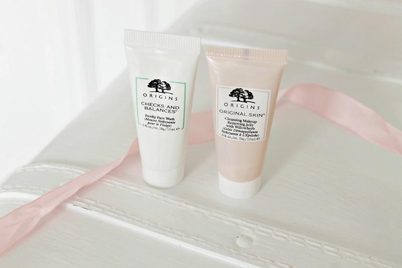 girly pastel beauty origins skincare blog review