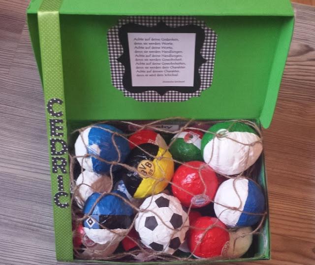 Fussballgeschenk zur Konfirmation