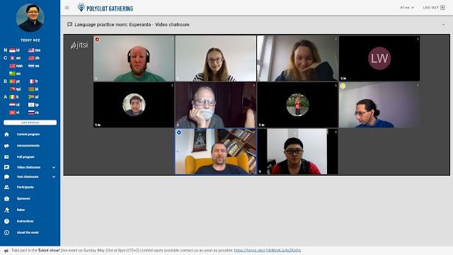 Language practice room: Esperanto