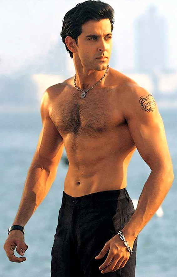 Image Gallary 1: hrithik roshan beautiful body pictures ...