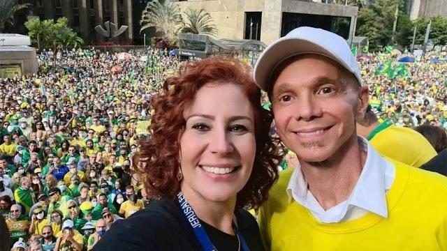 """Manno Góes processa deputada por usar música """"Milla"""" em ato pró-Bolsonaro"""