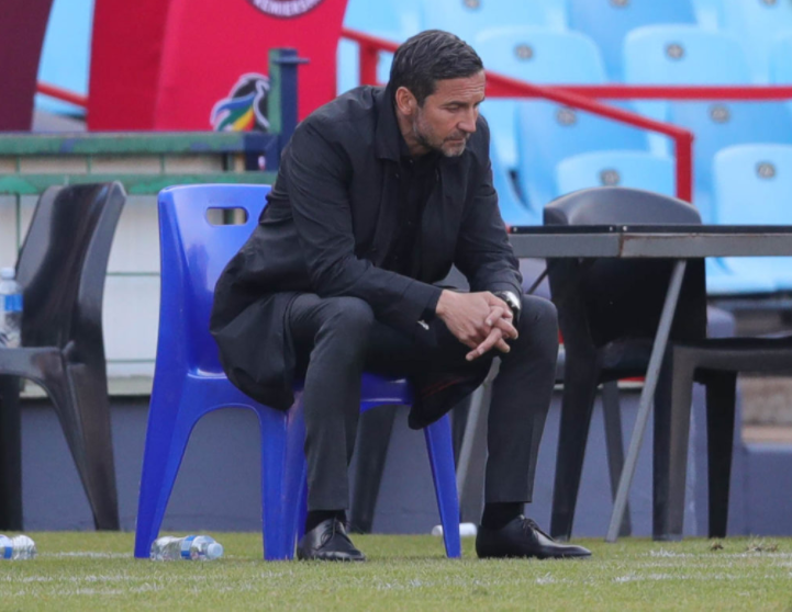 Orlando Pirates head coach Josef Zinnbauer is on the ropes following inconsistent results