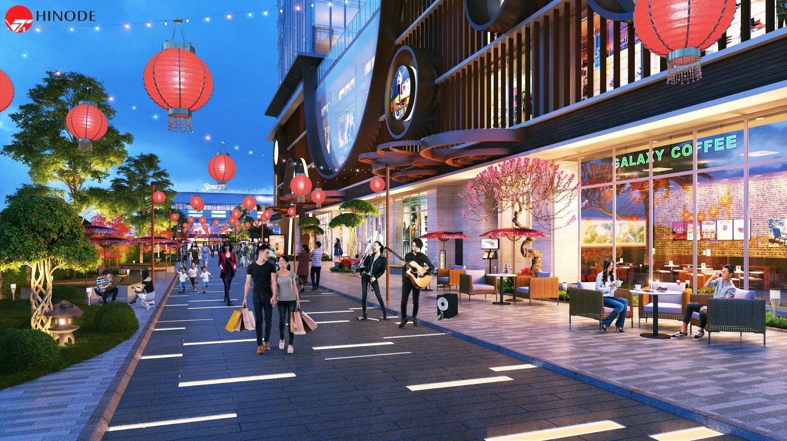 Không gian sống đậm chất của người Nhật ngay tại Hinode City