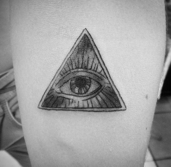 Illuminati Triangle Tattoo 50 Best Triangl...