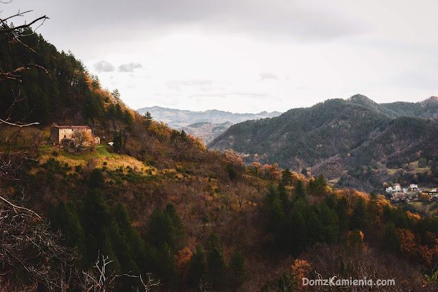 Marradi Toskania nieznana, blog Dom z Kamienia
